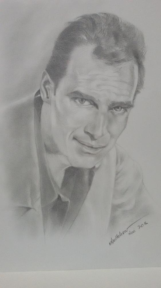 Charlton Heston by Bobchew